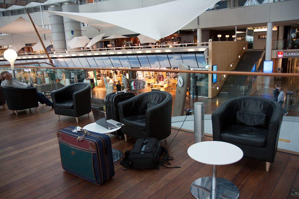 Arlanda airport.