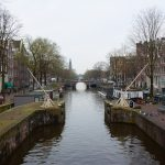 Water canals in Amsterdam
