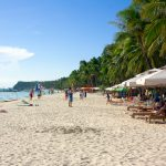 The white beach - Boracay, Philippines.