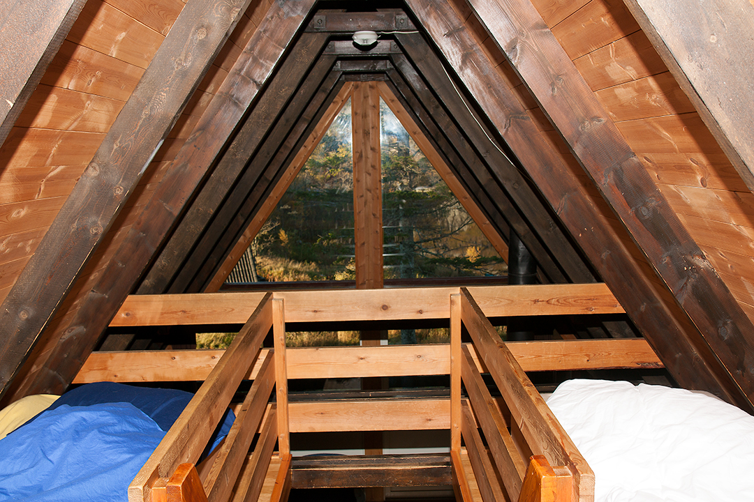 Beds in the attic