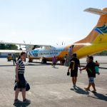 First time flying with propeller  plane