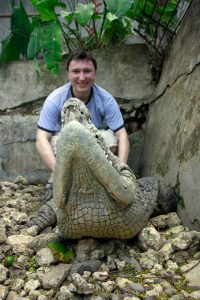 Me on the crocodile