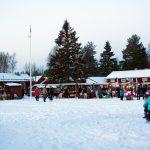 Christmas market at Gammelstad