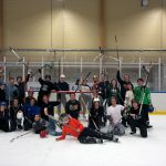 Our hockey team - well most of it at least. Last picture on last training we had.