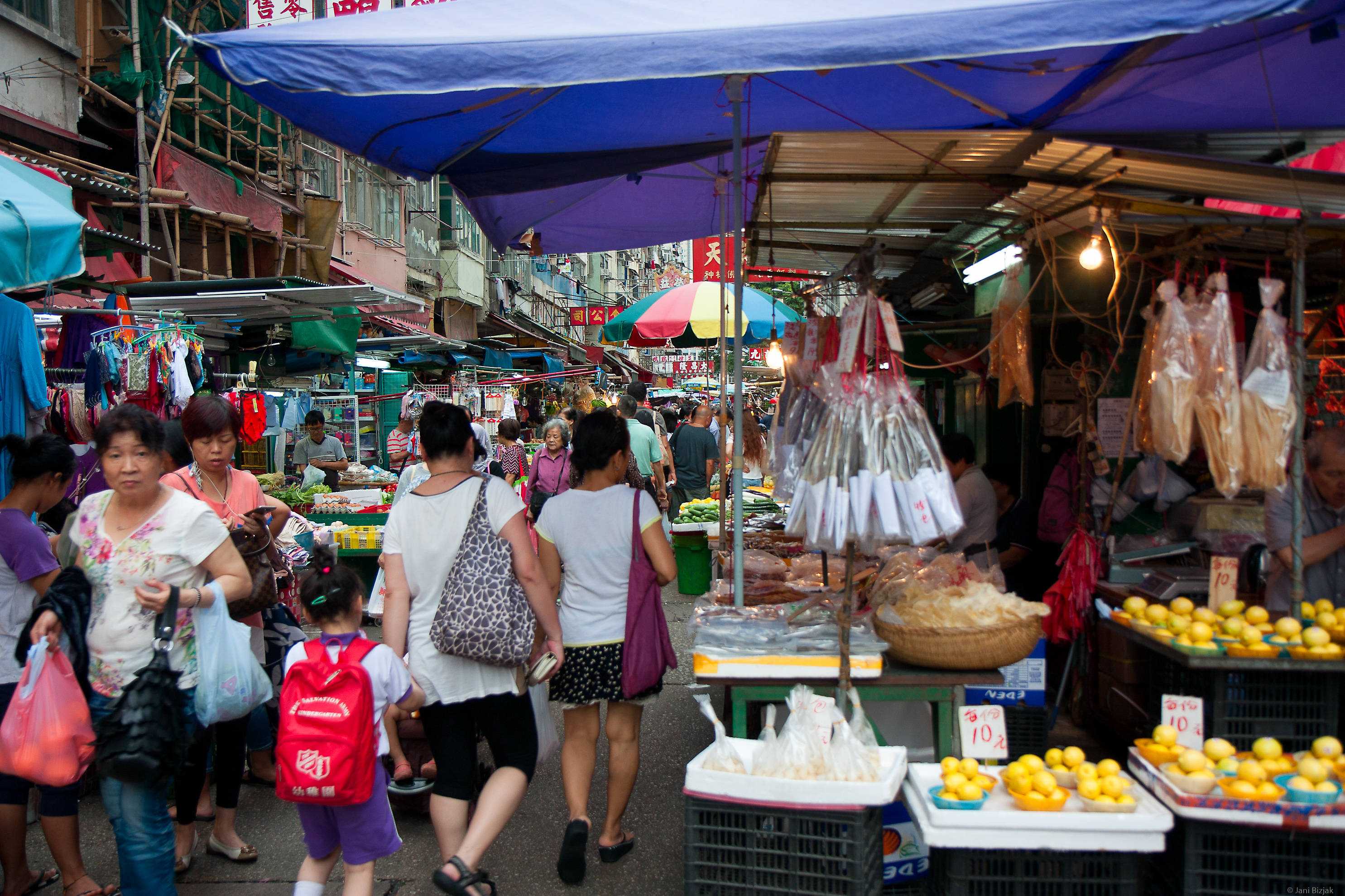 Hong Kong open markets