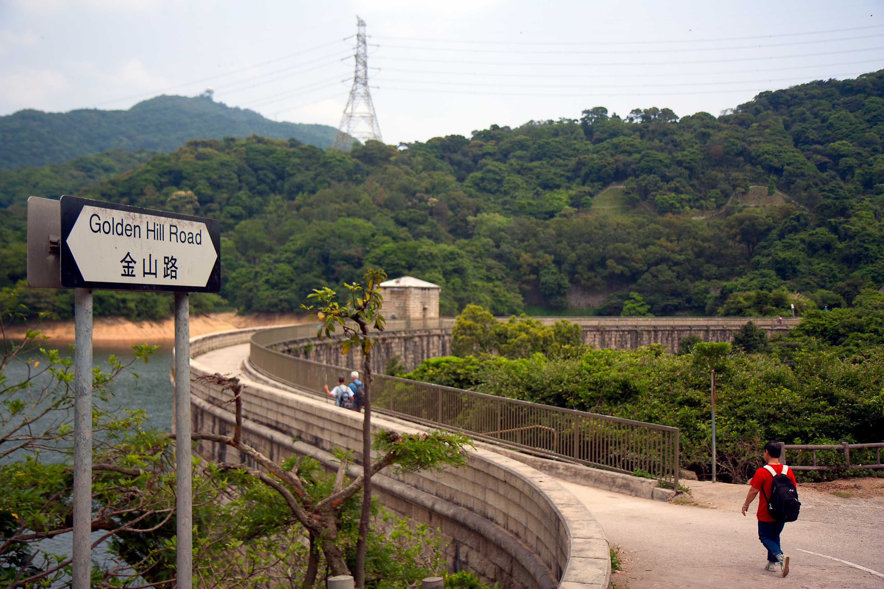 One of the dams in the area of the Monkey.