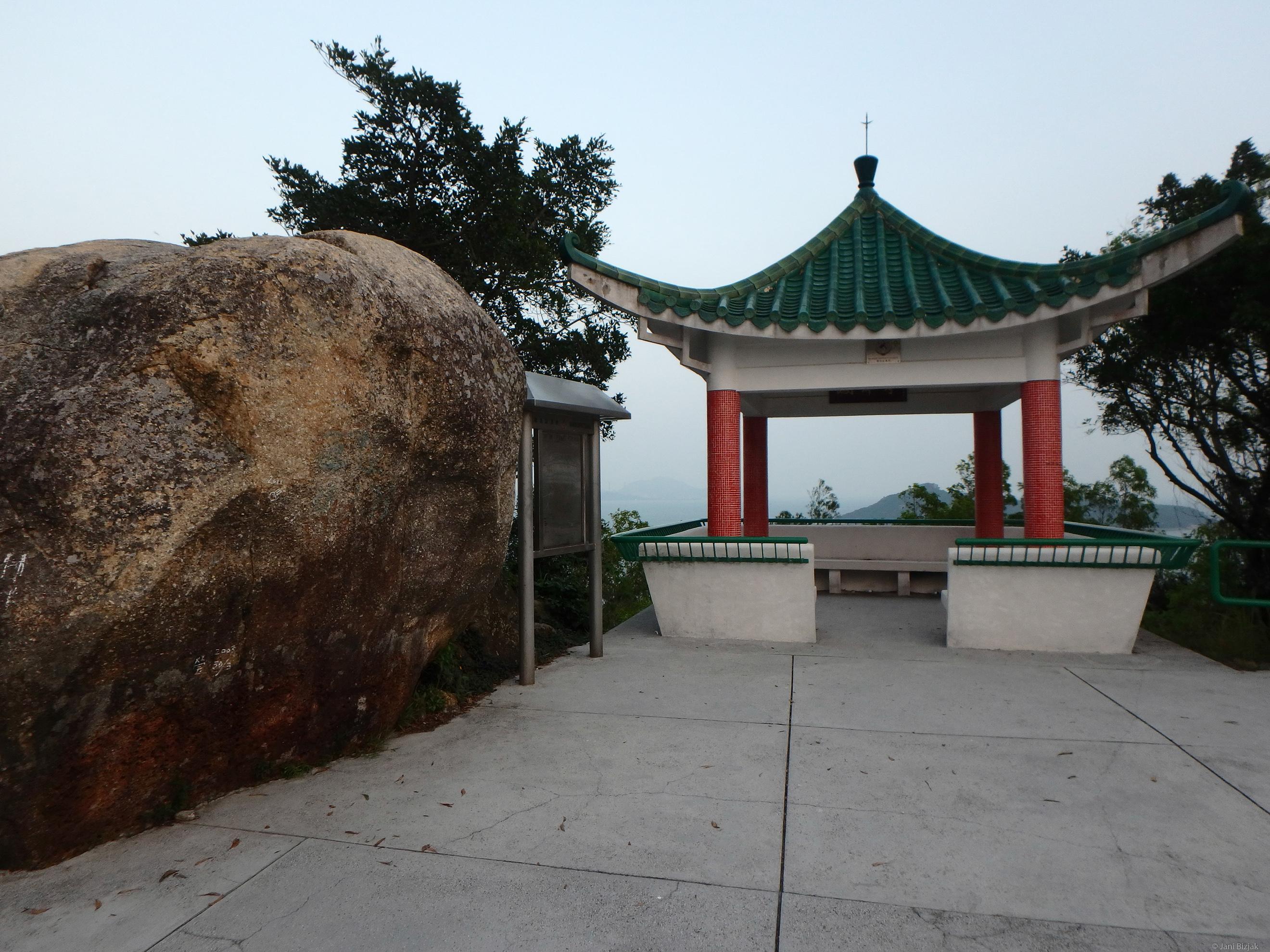 Top of Peng Chau