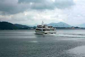 Ferries are the main means of transport from islands to mainland.
