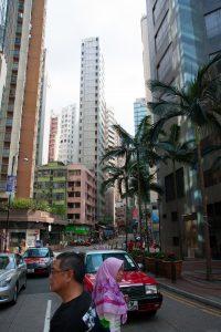 Streets on main island.