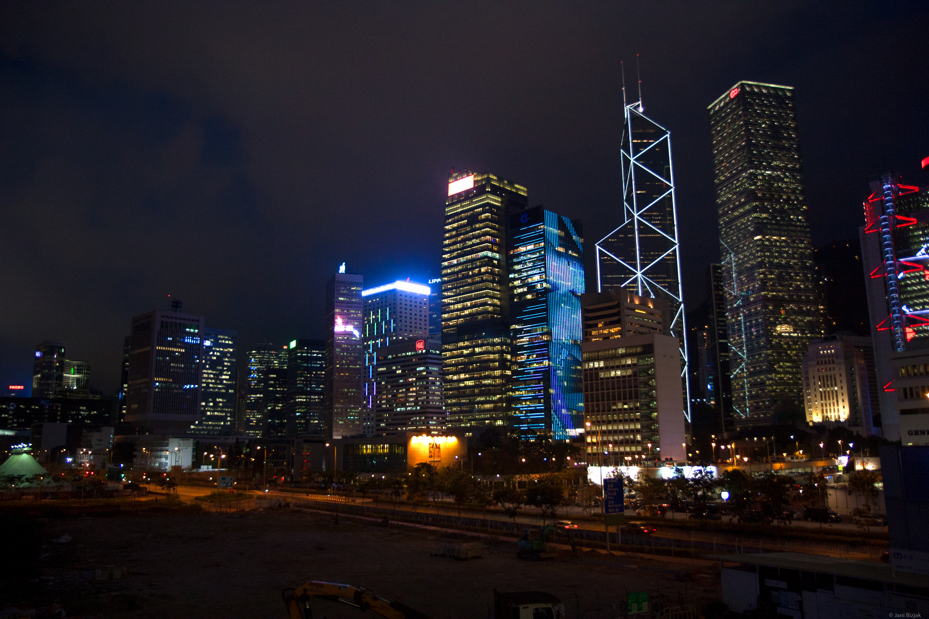 The most famous night skyline