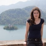 Veronika at Bled castle