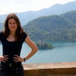 Veronika at lake Bled