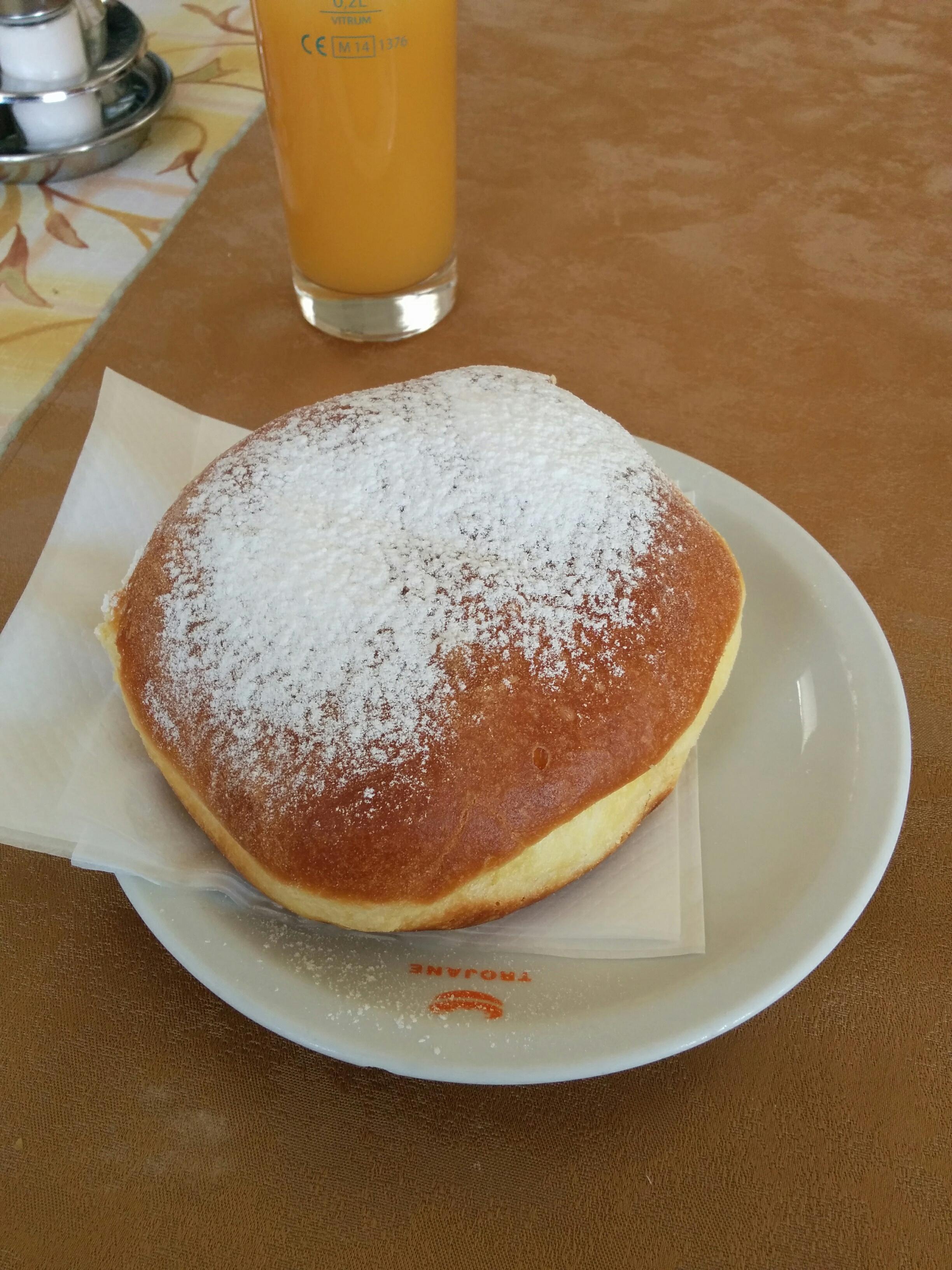 Trojane donut