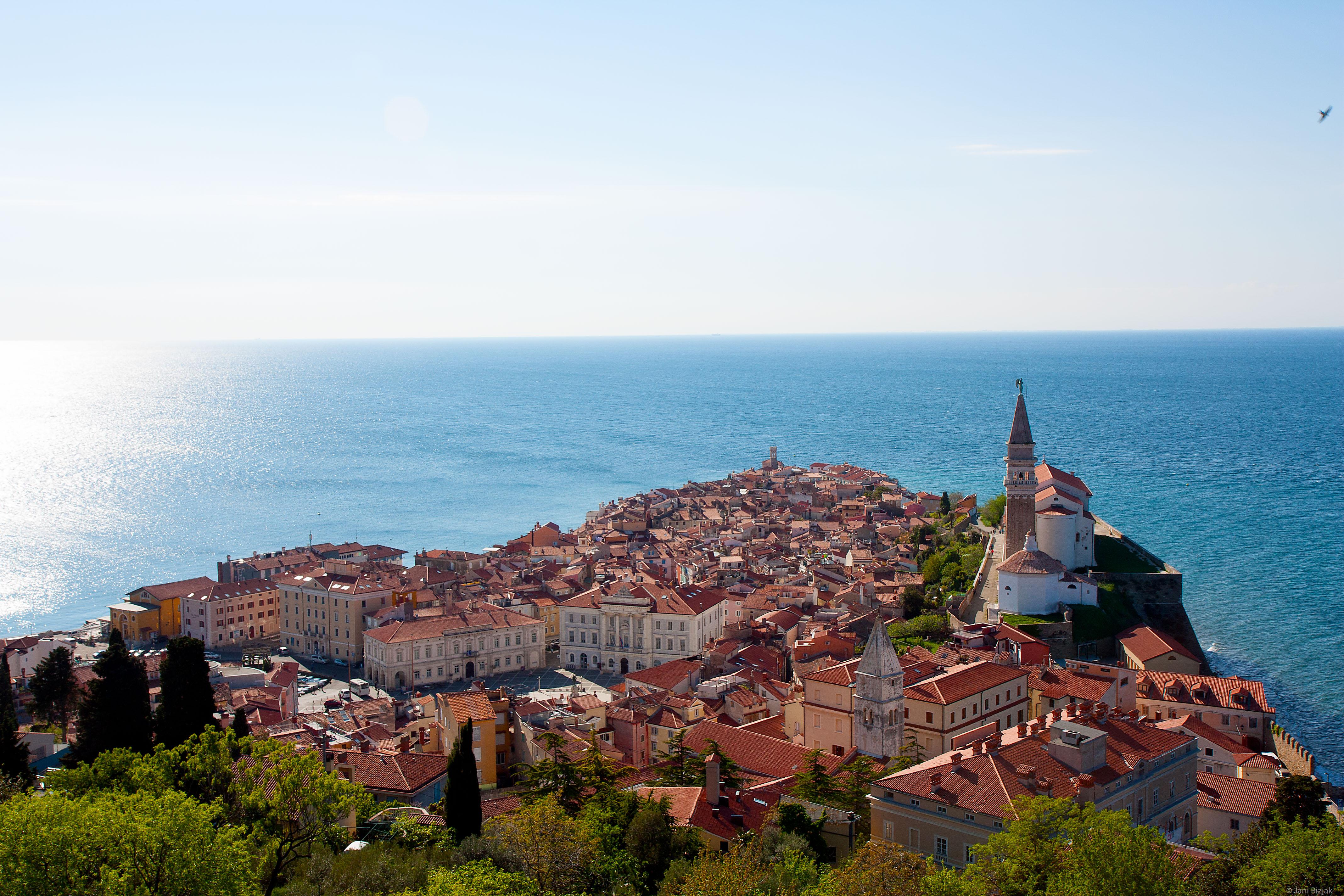 Slovenian seaside.