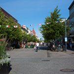 Luleå city center - main road