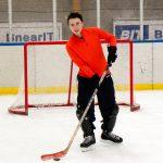Me in hockey gear