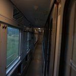 Sleeper train SJ.
