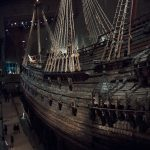 Vasa Museum displaying 17th centruy ship, that sank on the first day of voyage.