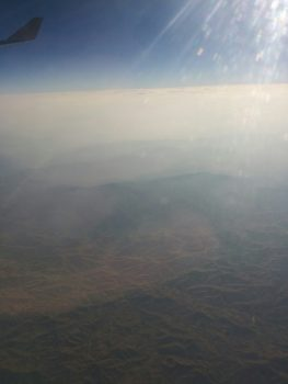 Desert over Iraq/Iran.