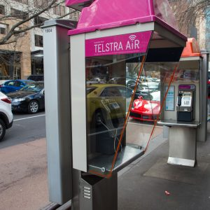 You can still find surprisingly a lot of phone booths around the city. I'm not sure if anyone is still using them.