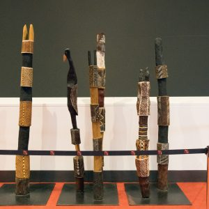 Some aboriginal instruments.