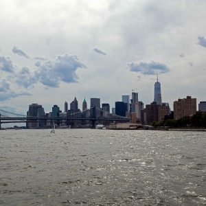 New York from the river