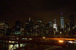 Manhattan in the dark