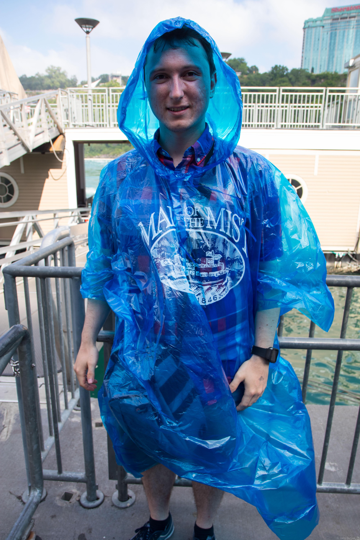 You still get soaked a bit.
