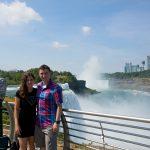 At Niagara falls.