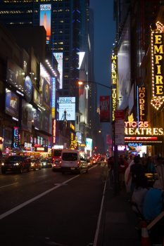 Time Square, behind our hotel.