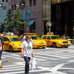One of the NY icons - Yellow taxi