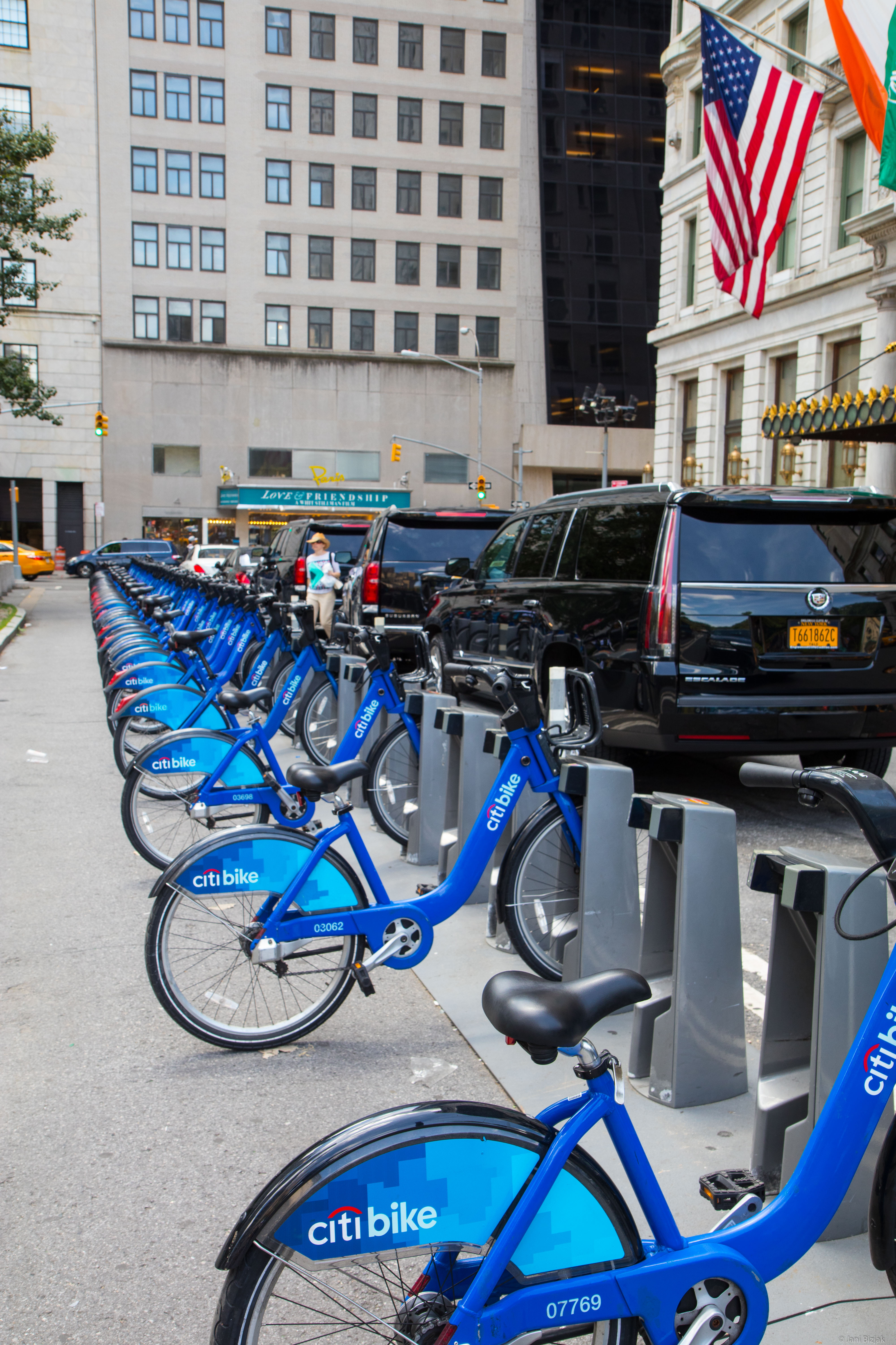 Rent bikes - using bike is surprisingly fast compared to other means of transport in the city.