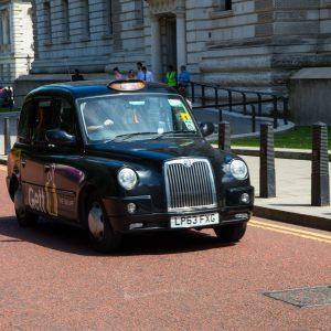 Famous black taxi