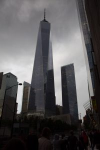 The tallest building in New York.