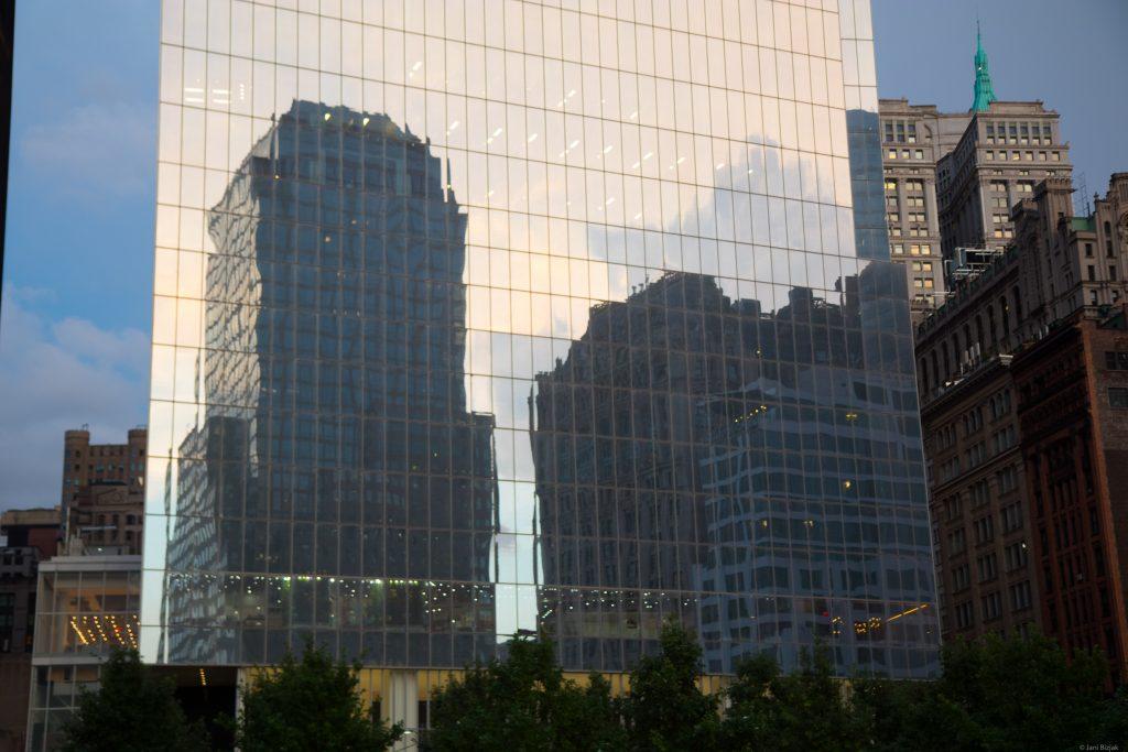Manhattan skyscraper.