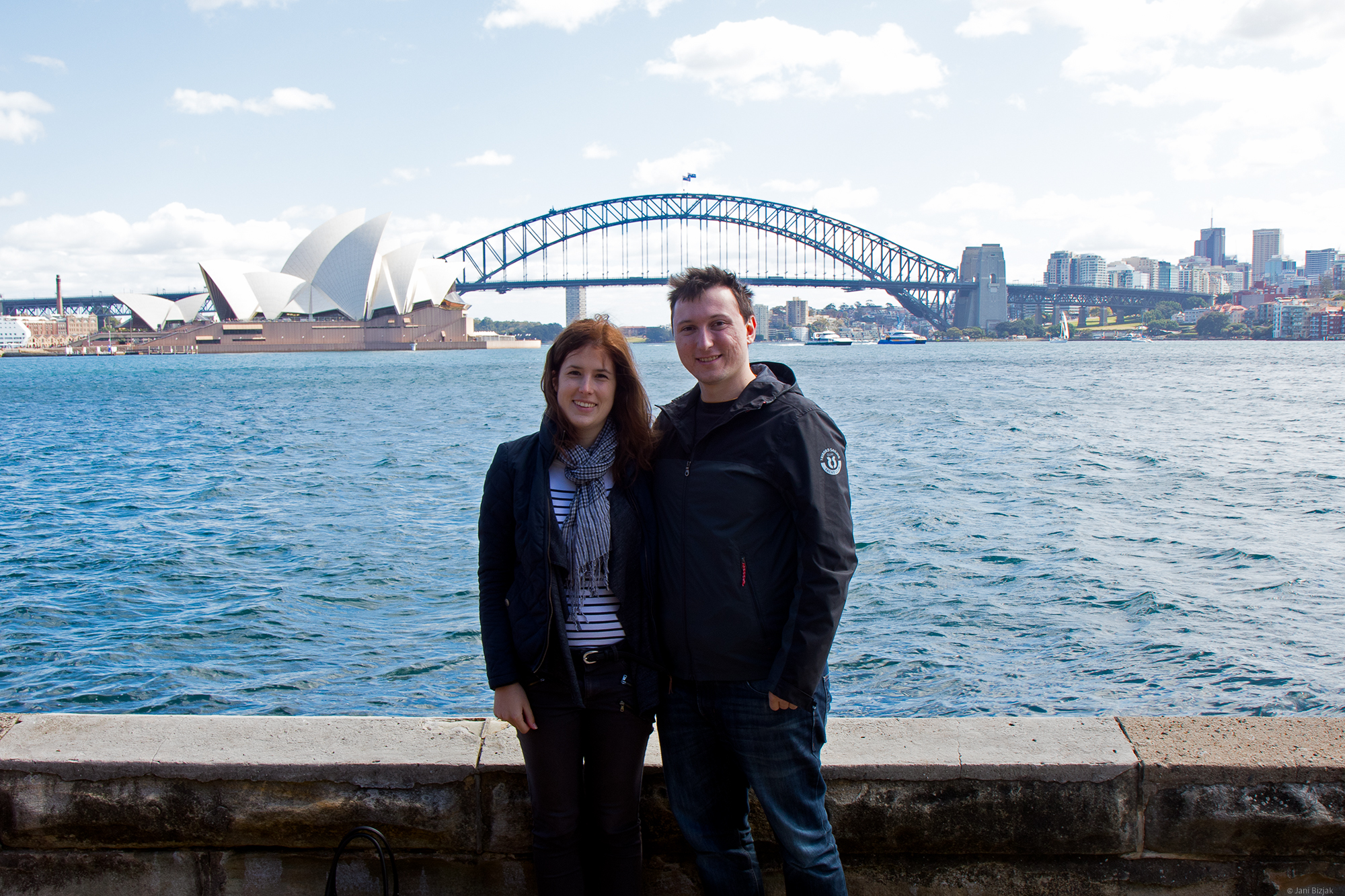 The most well known landmark in Sydney.