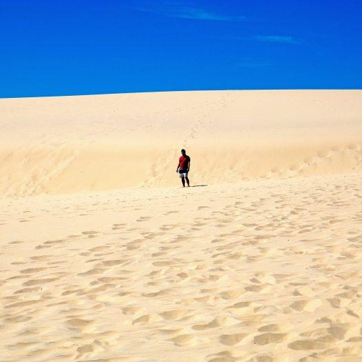 Freser island desert