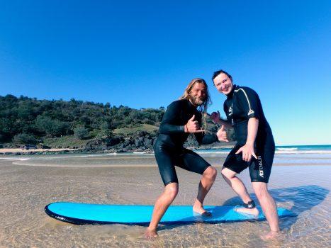 Surfing Jesus.