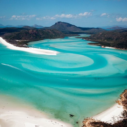 Whitsundays from air, taken by our skipper.