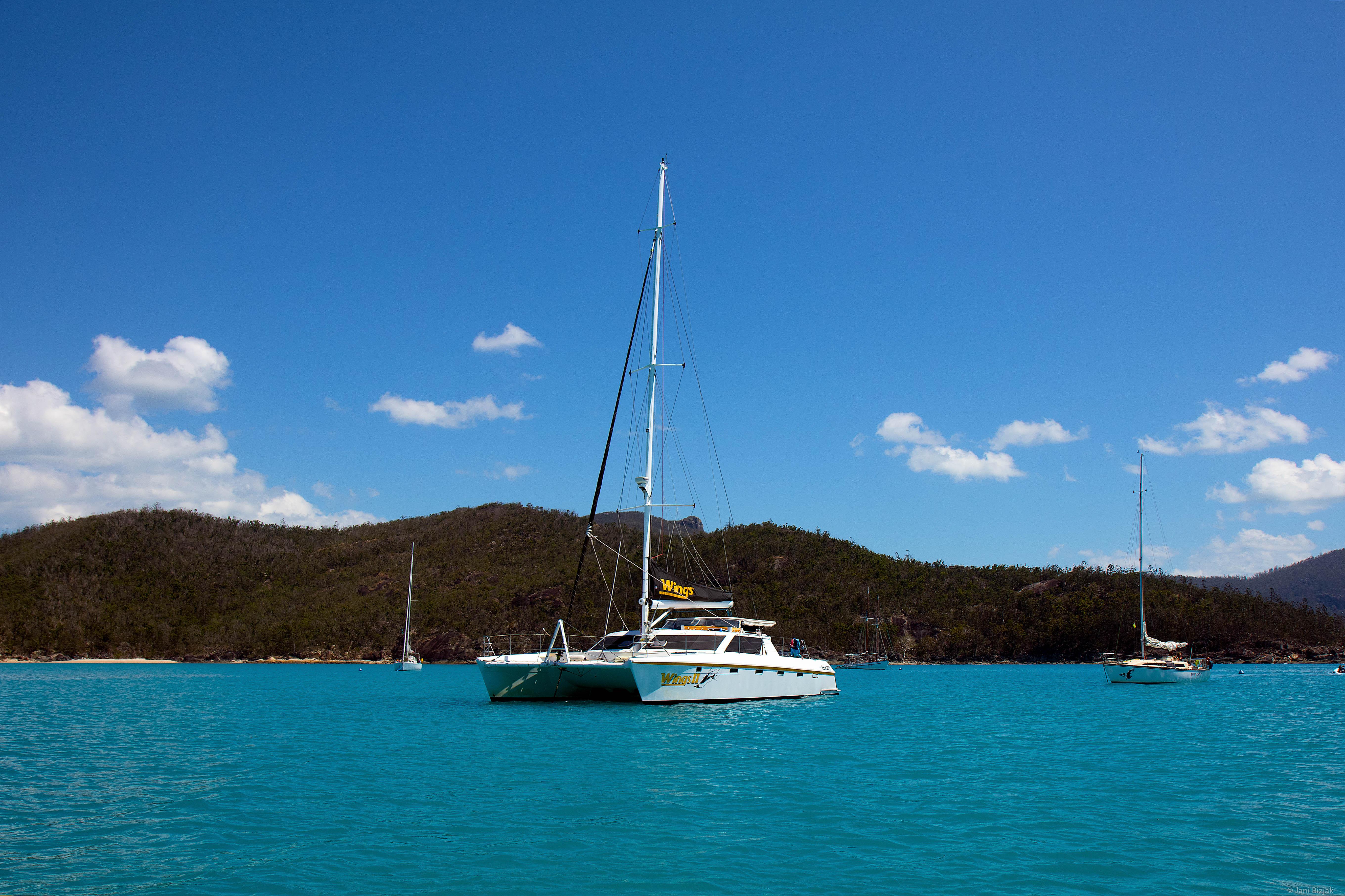 Catamaran where we spent next 3 days.