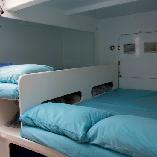 Left sleeping hall