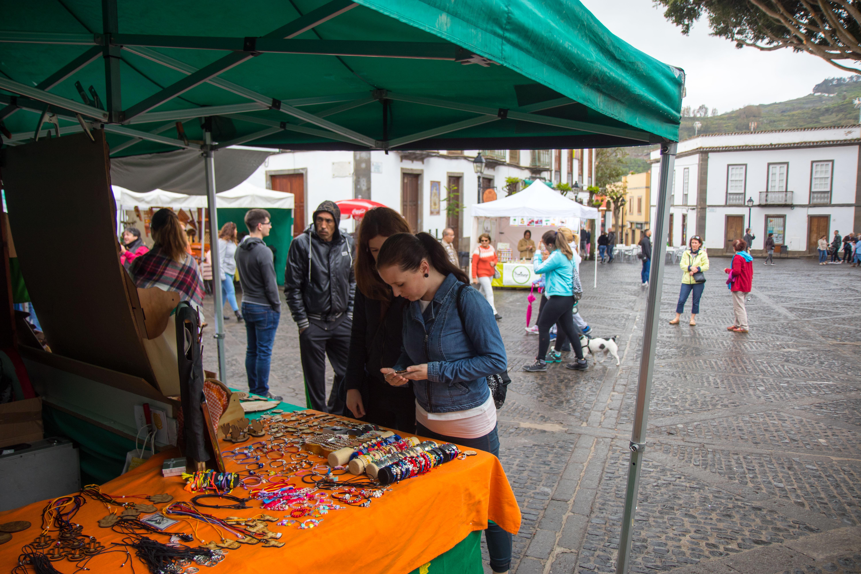 Market stalls