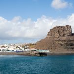 Port for ferry to Tenerife