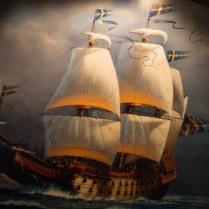 Vasa ship.