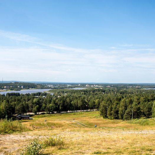 View over Luleå