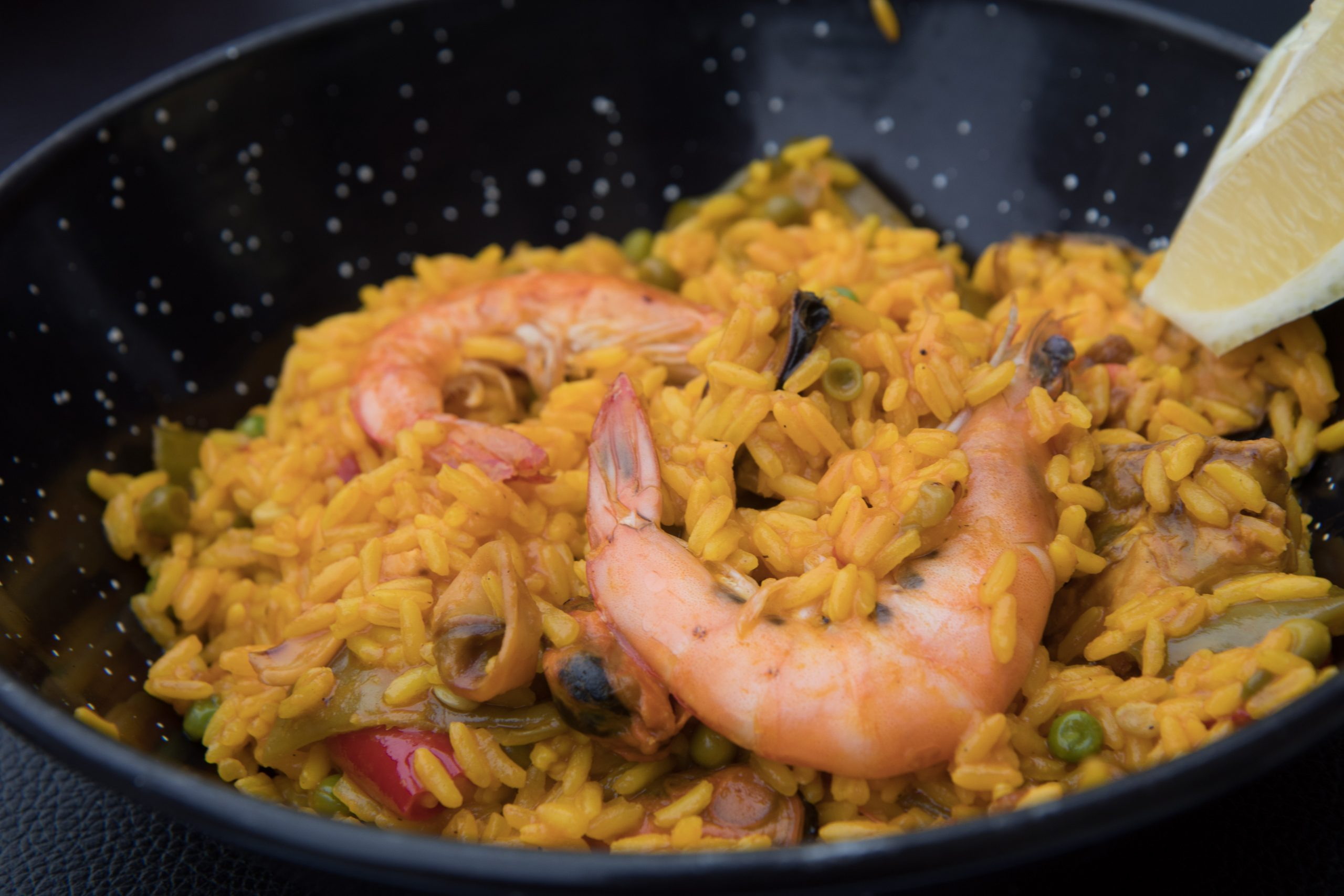 You can't visit Spain and not eat paella, right?