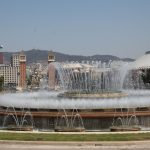 Fountains larger than swimming pools.