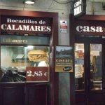 Calamari in sandwich? Well that's a first.