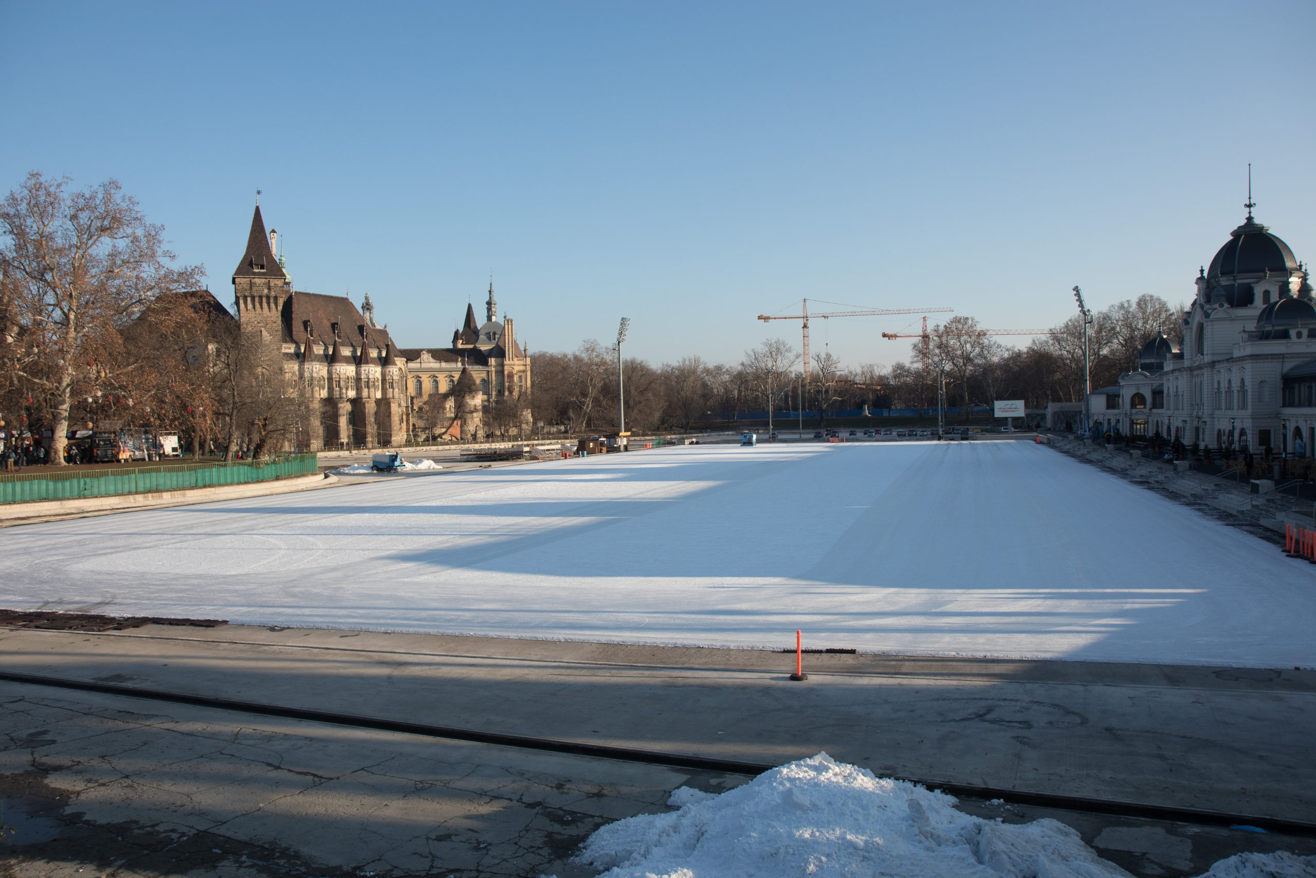 What would I give, if we had such a large ice rink in Ljubljana.