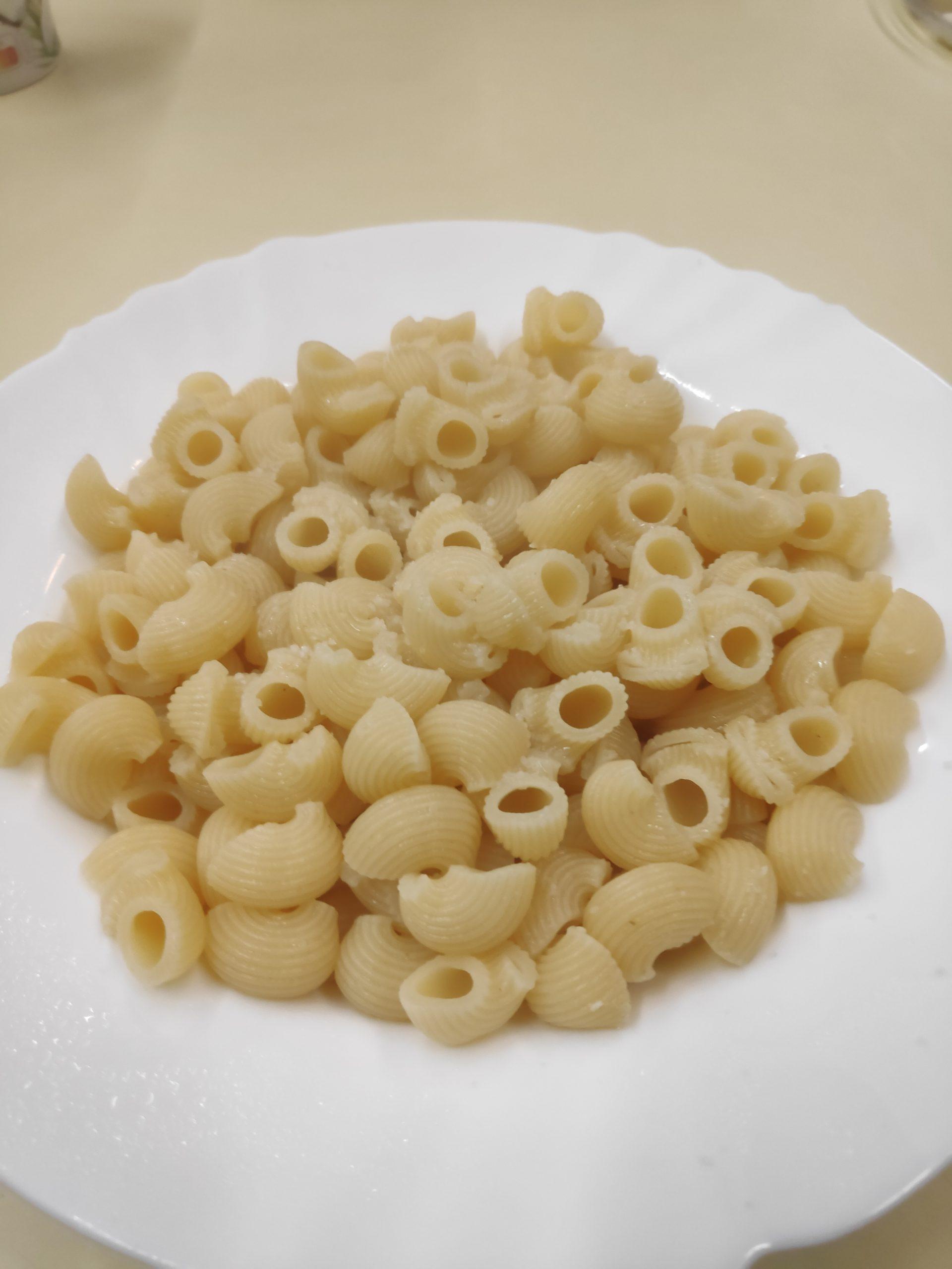 Nothing like pasta .... for breakfast.